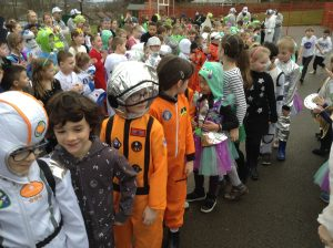 Space Day Catwalk!
