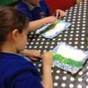 Painting in the style of Georges Seurat