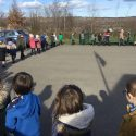 Reception begin the Walk for Water Challenge