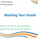 Hand washing techniques.
